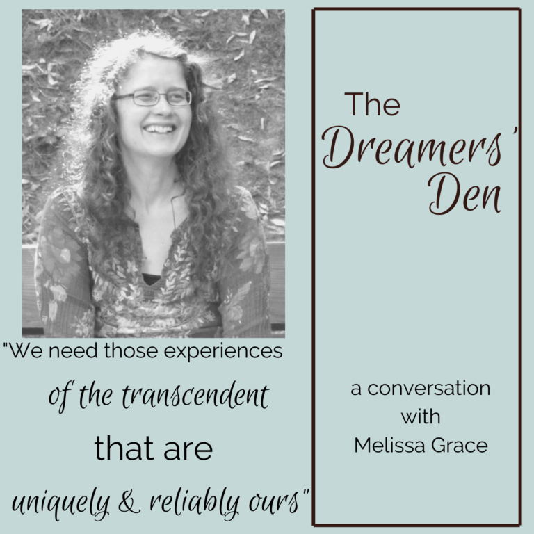 Melissa Grace Dreamers Den Podcast Interview with Leilani Navar www.thedreamersden.org